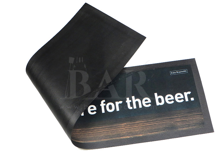 Rubber Backed Bar Runner